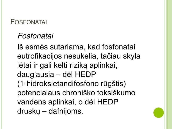 Fosfonatai