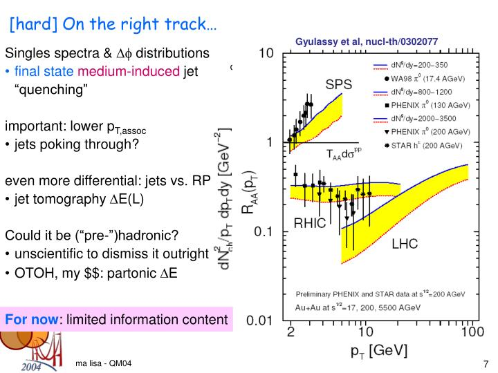Gyulassy et al, nucl-th/0302077