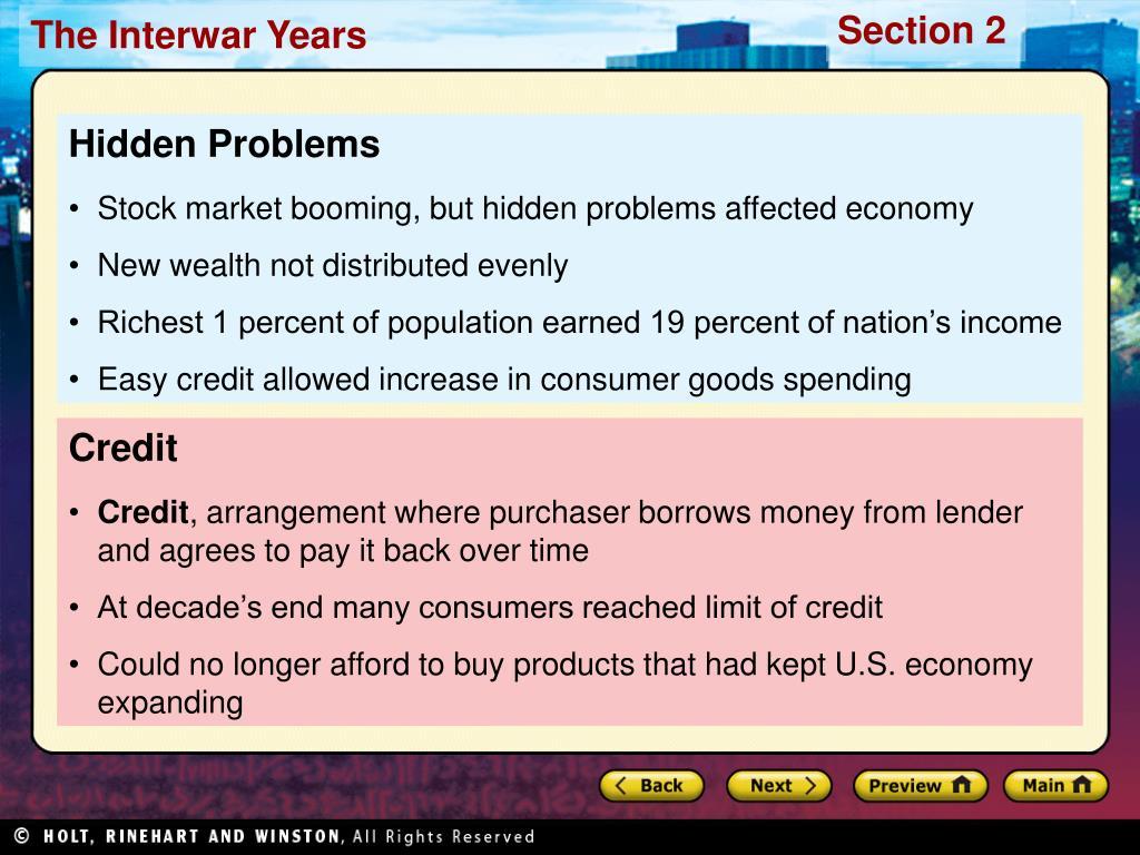 Hidden Problems