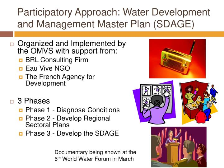 Participatory Approach: Water Development and Management Master Plan (SDAGE)