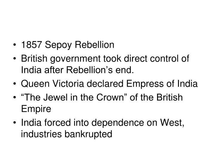 1857 Sepoy Rebellion