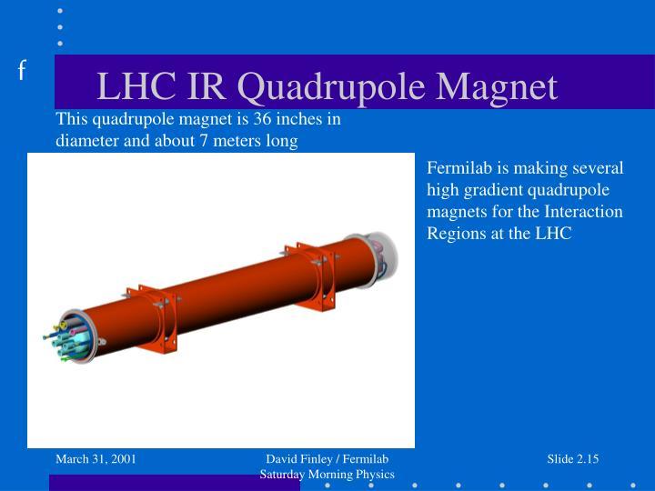 LHC IR Quadrupole Magnet