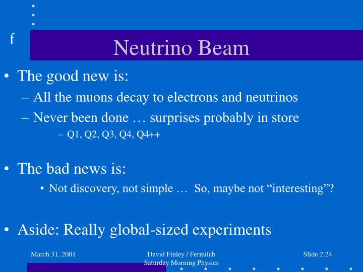 Neutrino Beam