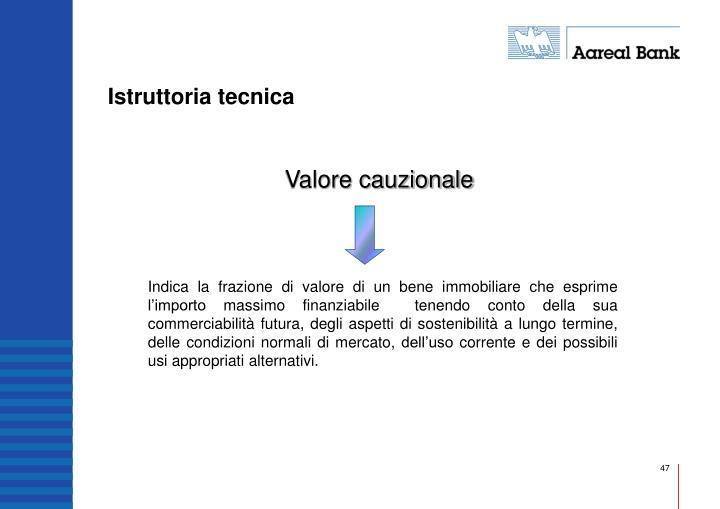 Istruttoria tecnica