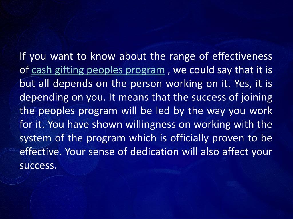 If you want to know about the range of effectiveness of