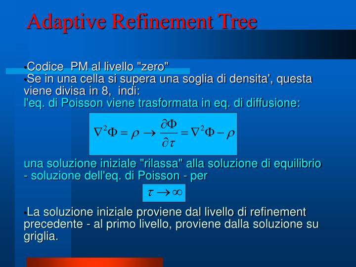 Adaptive Refinement Tree