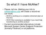 so what if i have mcafee