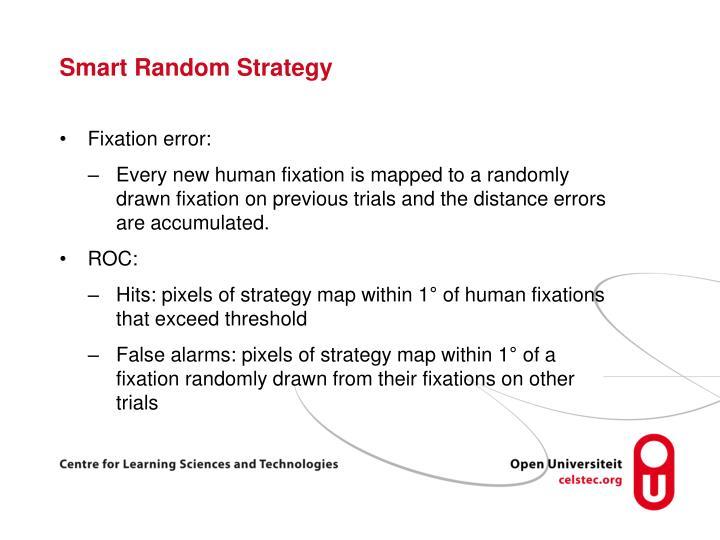 Smart Random Strategy