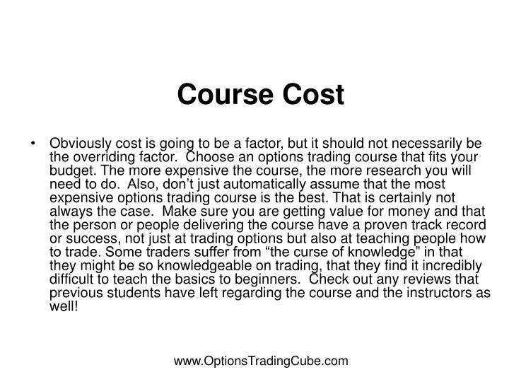Course Cost
