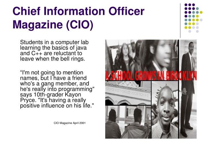 Chief Information Officer Magazine (CIO)