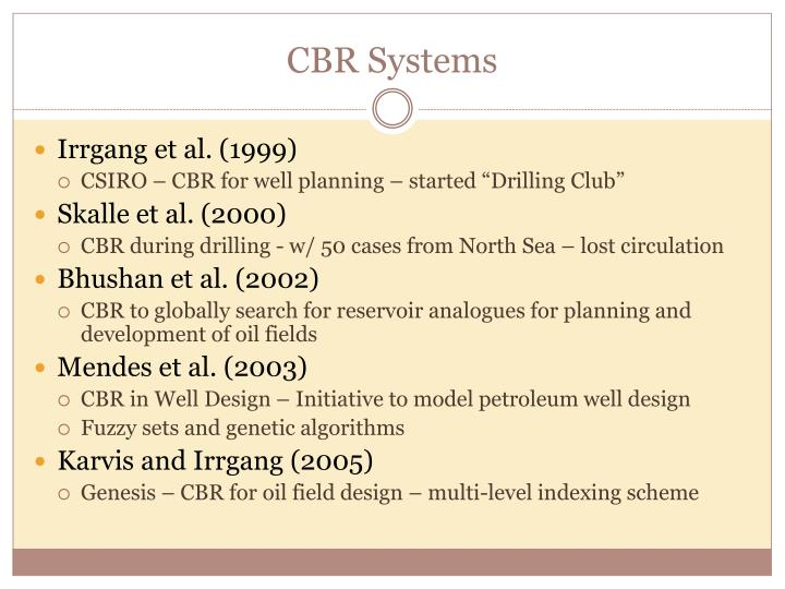 CBR Systems