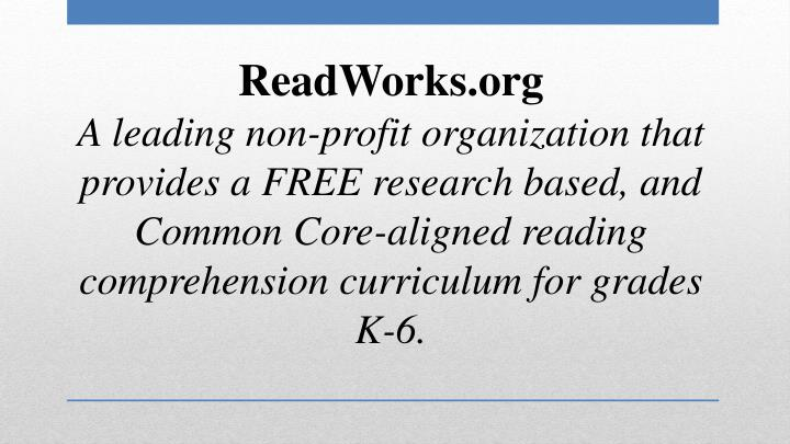 ReadWorks.org