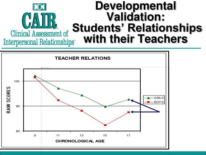 Developmental Validation: