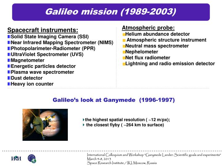 Galileo mission (1989-2003)