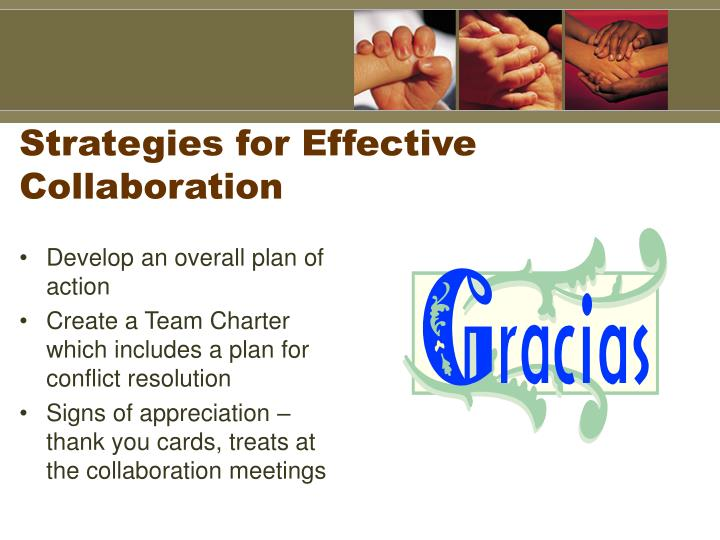 Strategies for Effective Collaboration