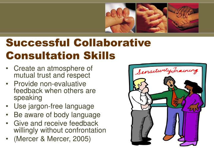 Successful Collaborative Consultation Skills