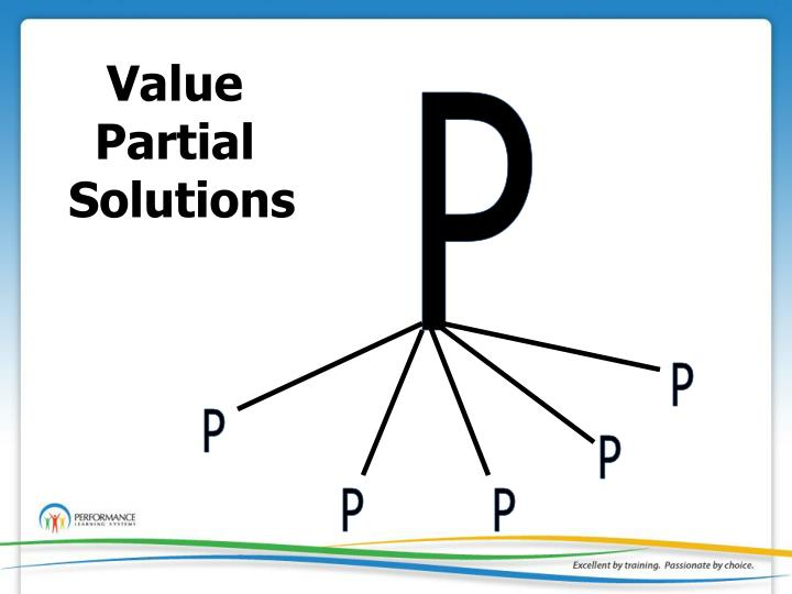 Value Partial