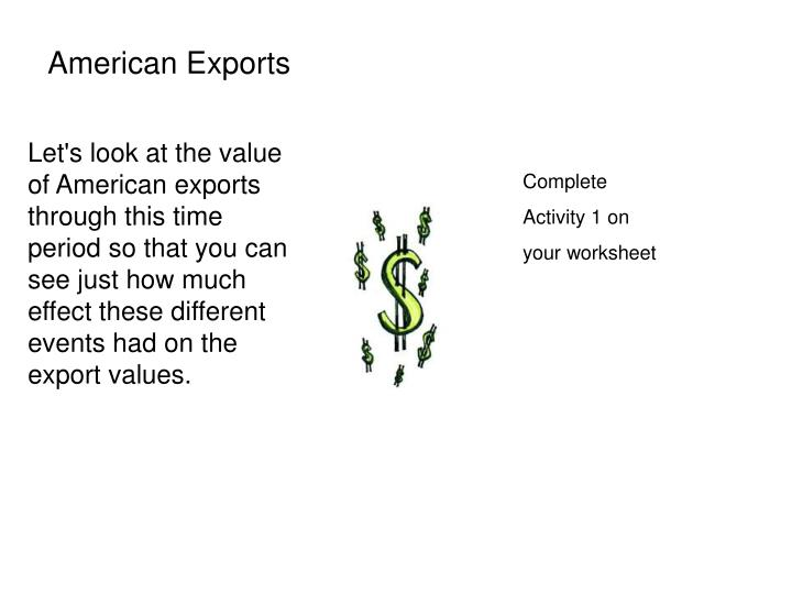 American Exports