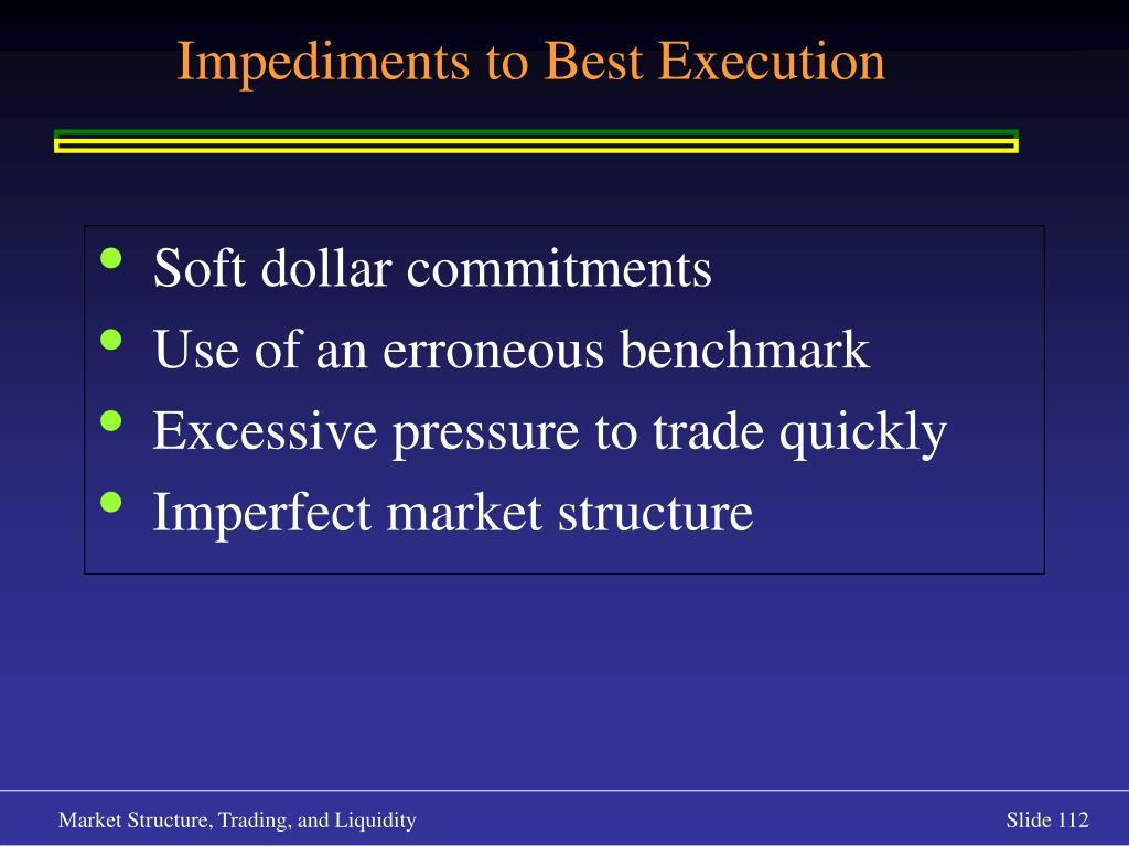 Soft dollar commitments