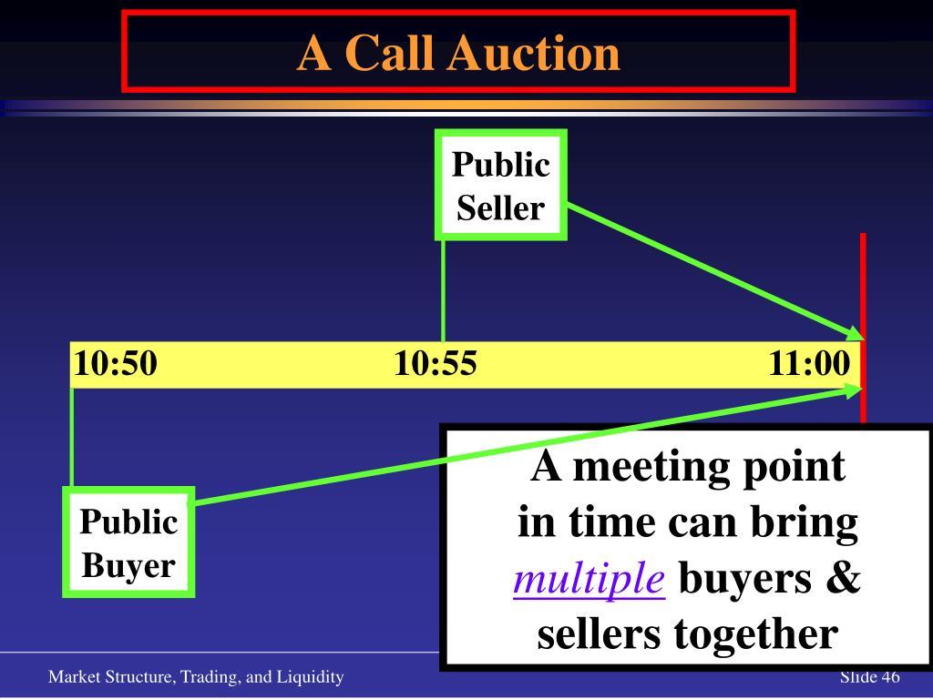 A Call Auction