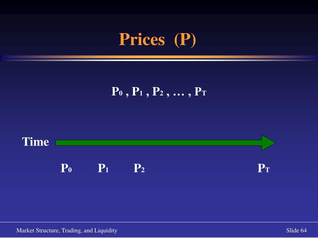 Prices  (P)