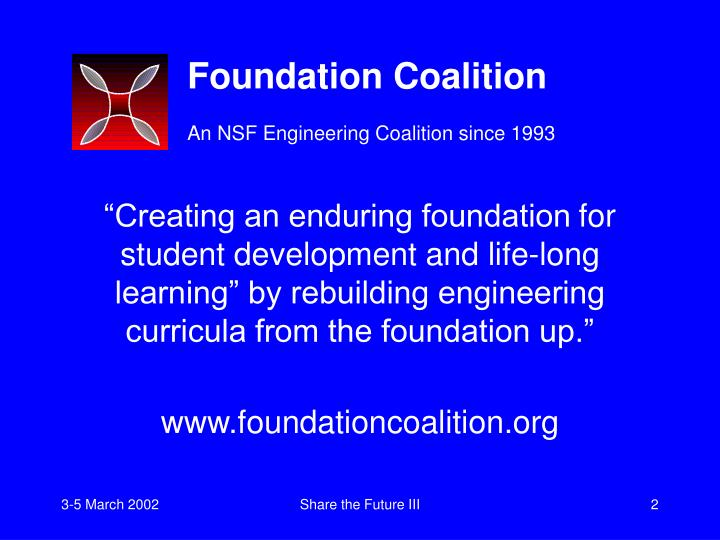 Foundation Coalition