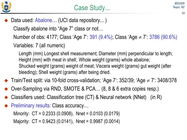 Case Study...