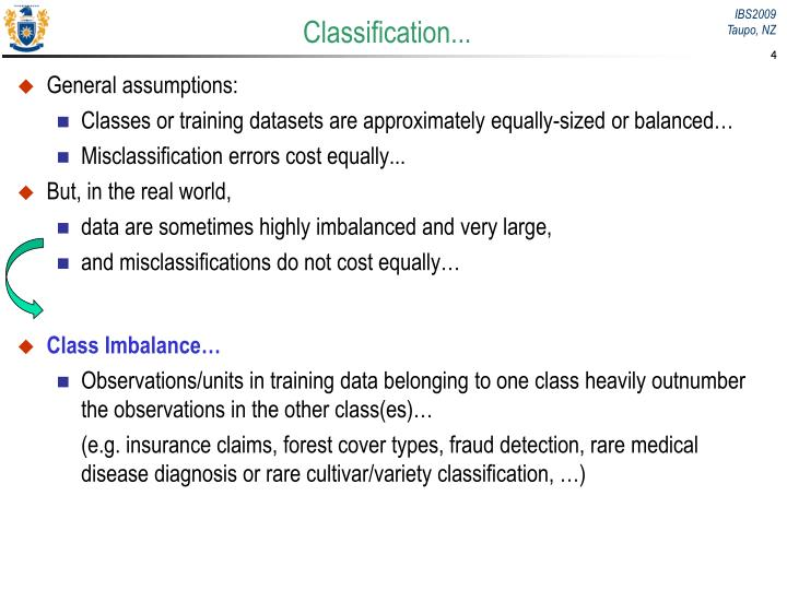 Classification...