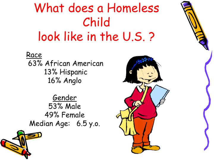 What does a Homeless Child