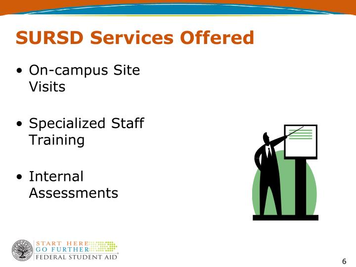 SURSD Services Offered