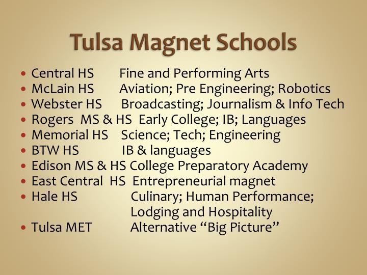 Tulsa Magnet Schools