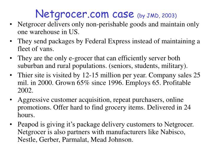 Netgrocer.com case