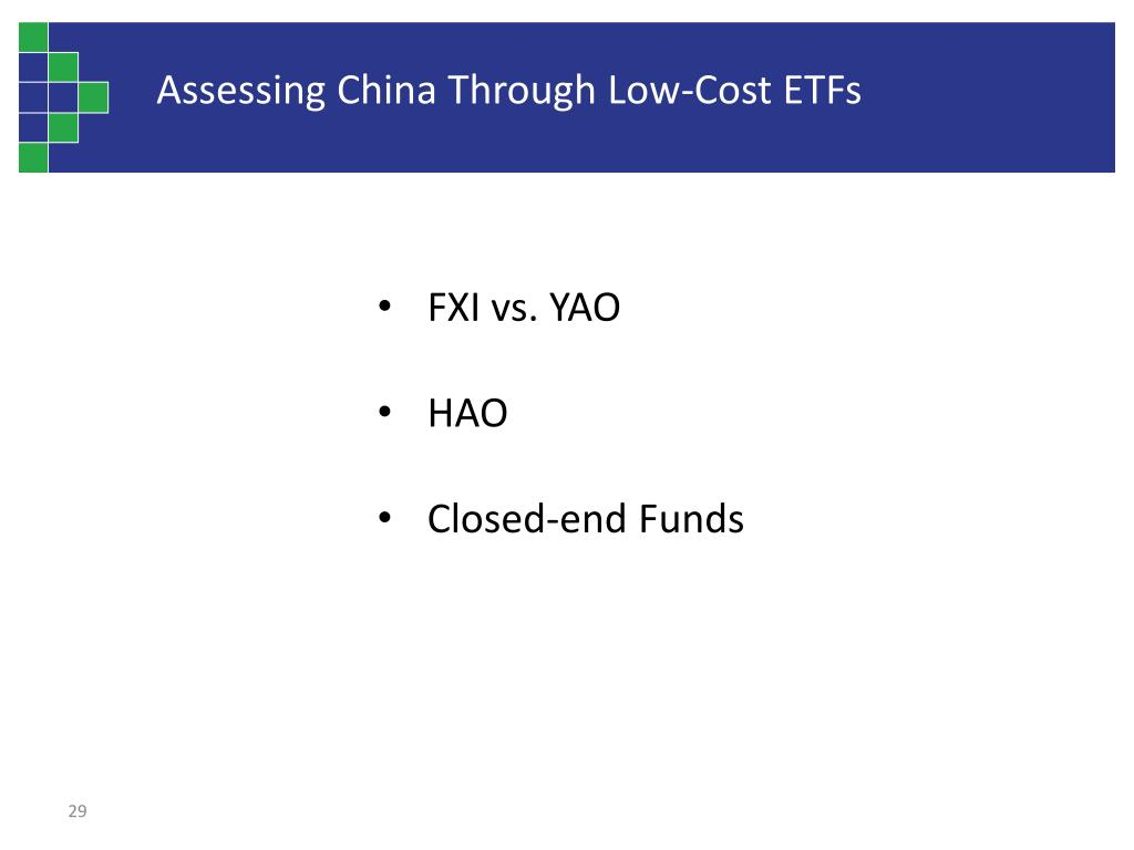 Assessing China Through Low-Cost ETFs