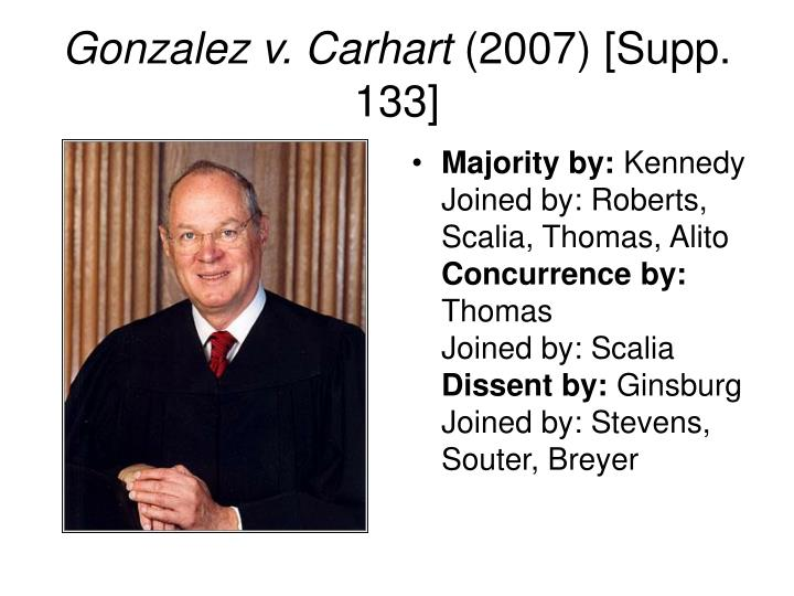 Gonzalez v. Carhart