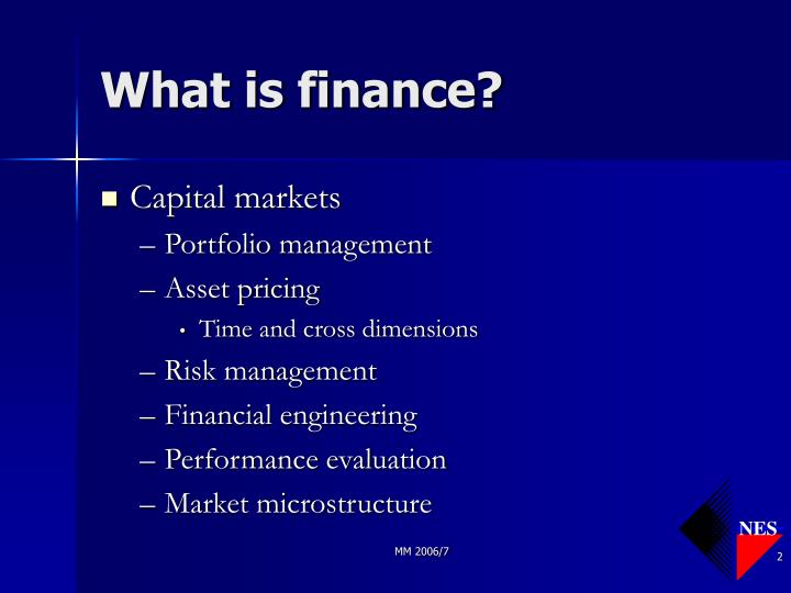 What is finance l.jpg