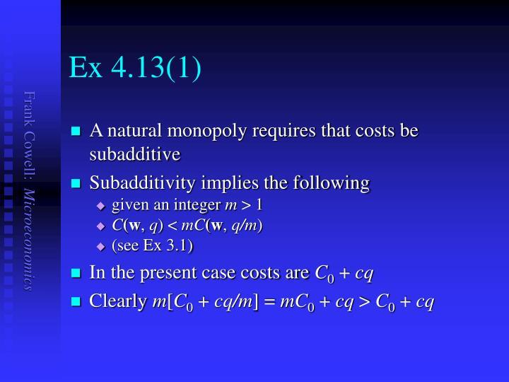 Ex 4.13(1)