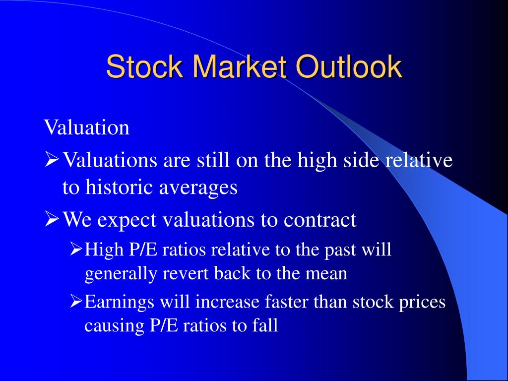 Stock Market Outlook