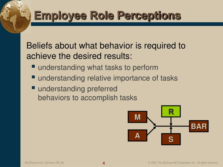 natural ability in organisational behaviour Individual behavior and learning four factors that  continuing effort ability natural  job duties in-role performance organizational citizenship behavior.