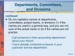 departments committees and divisions1