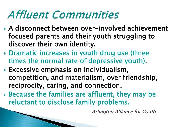Affluent Communities