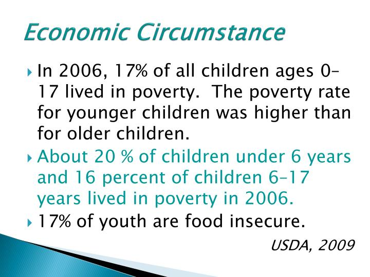 Economic Circumstance
