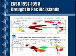 enso 1997 1998 drought in pacific islands