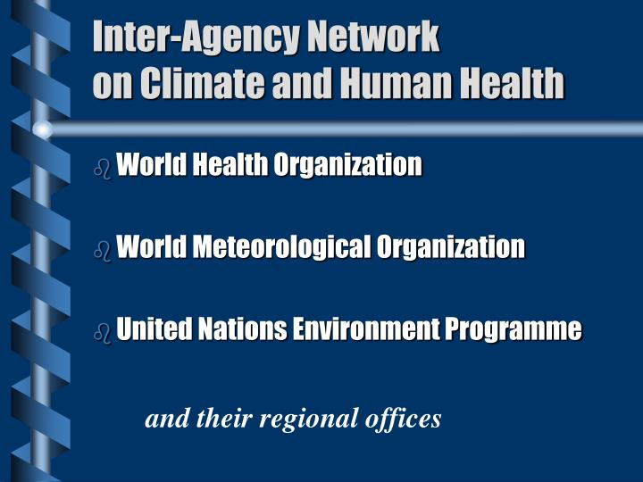 Inter-Agency Network