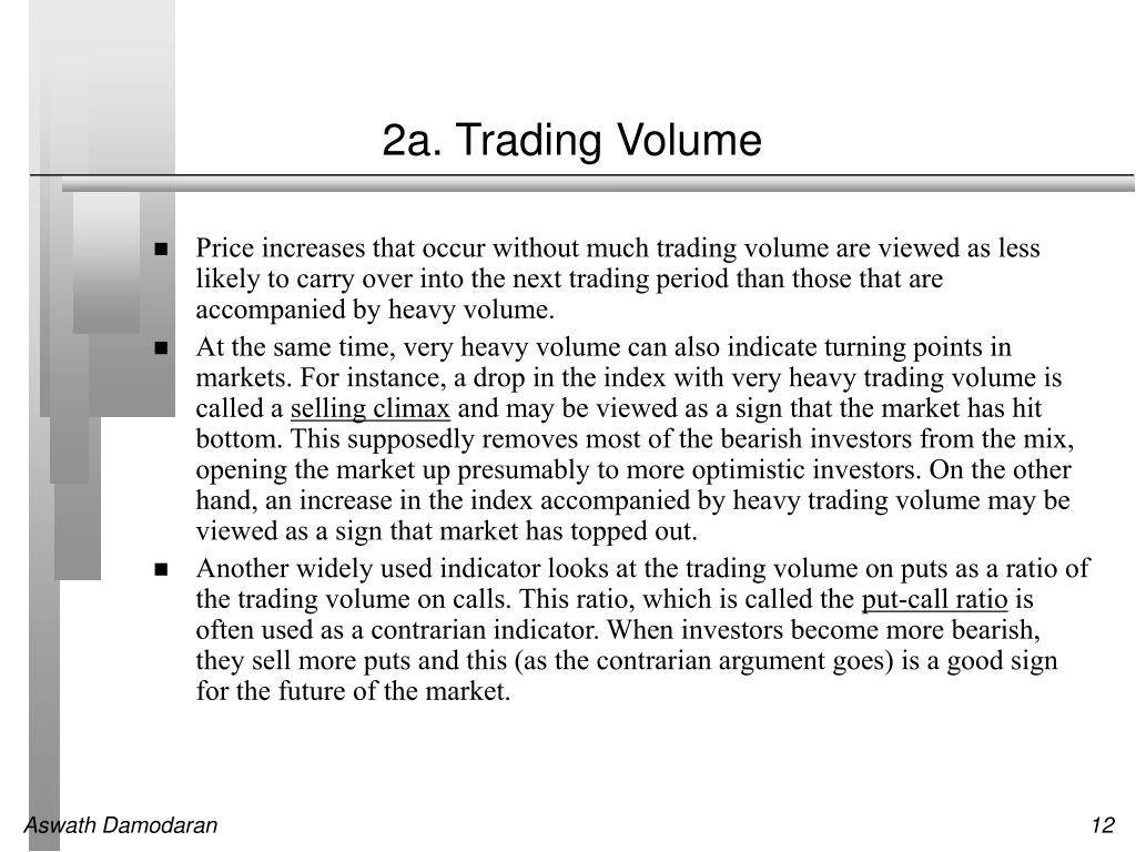 2a. Trading Volume