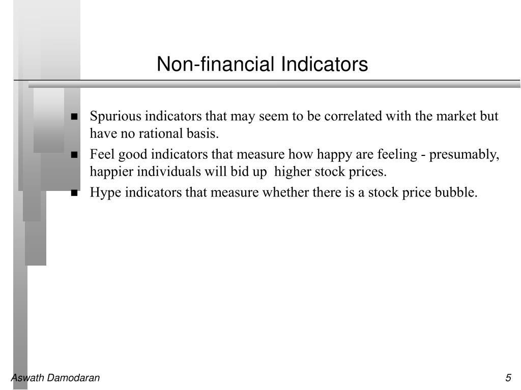 Non-financial Indicators