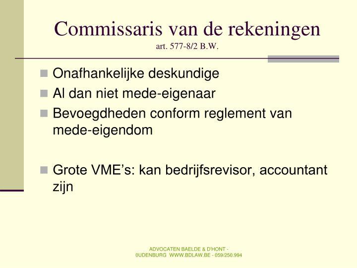 Commissaris van de rekeningen