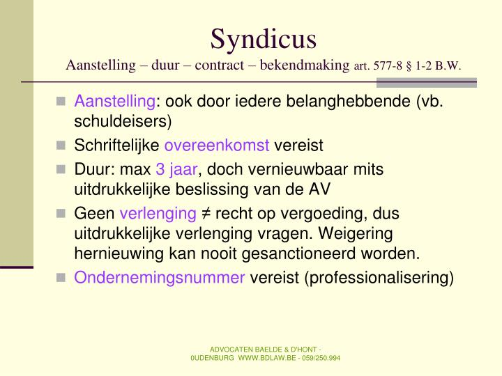 Syndicus
