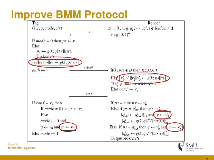 Improve BMM Protocol