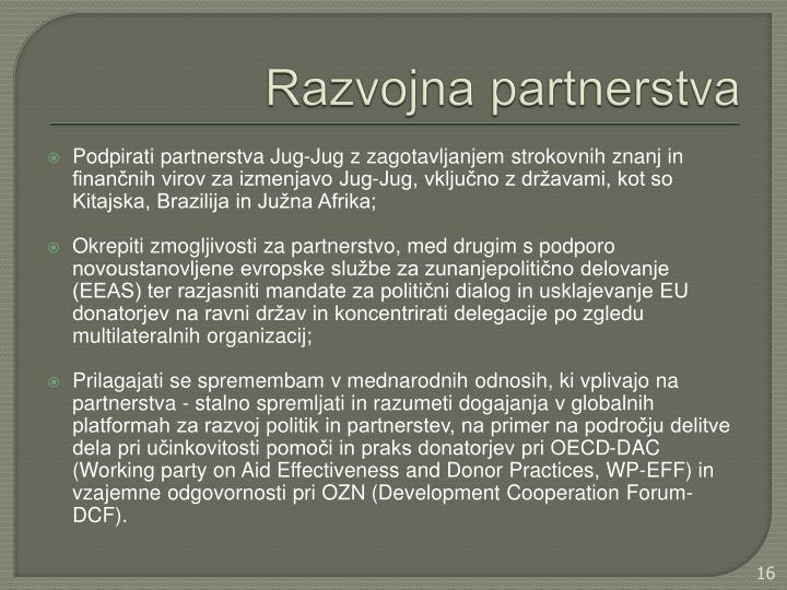 Razvojna partnerstva