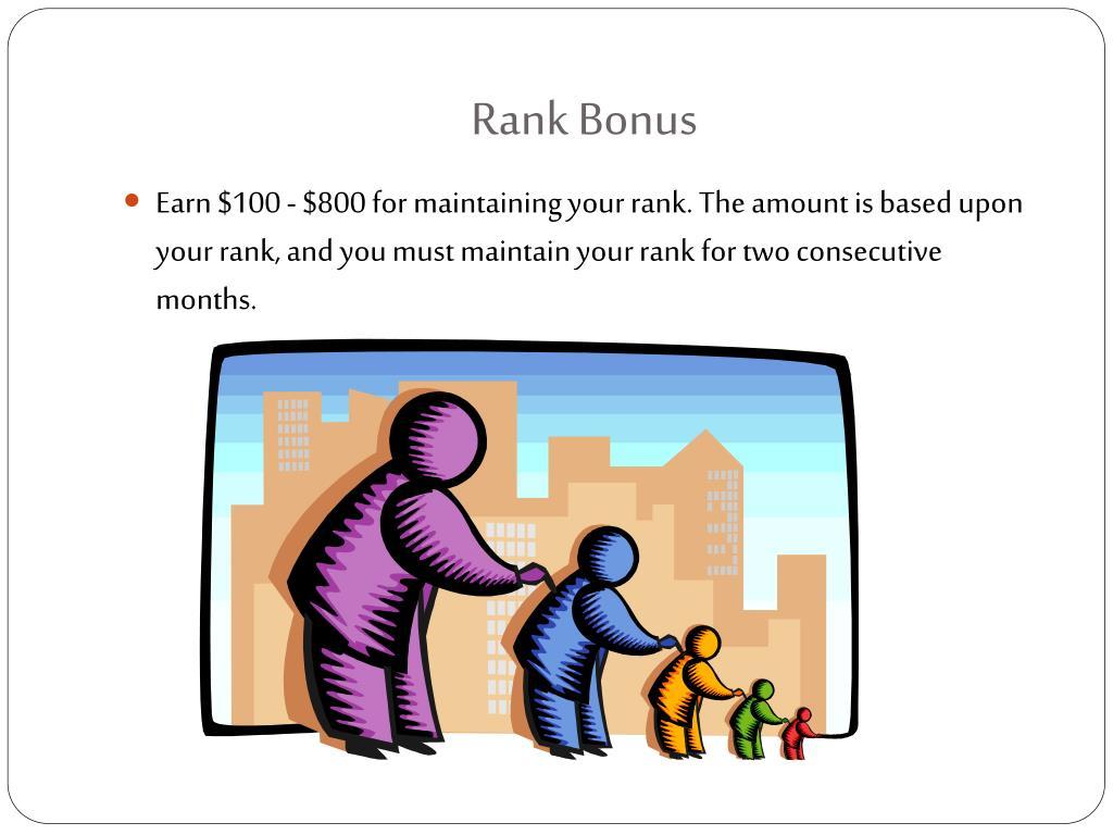 Rank Bonus